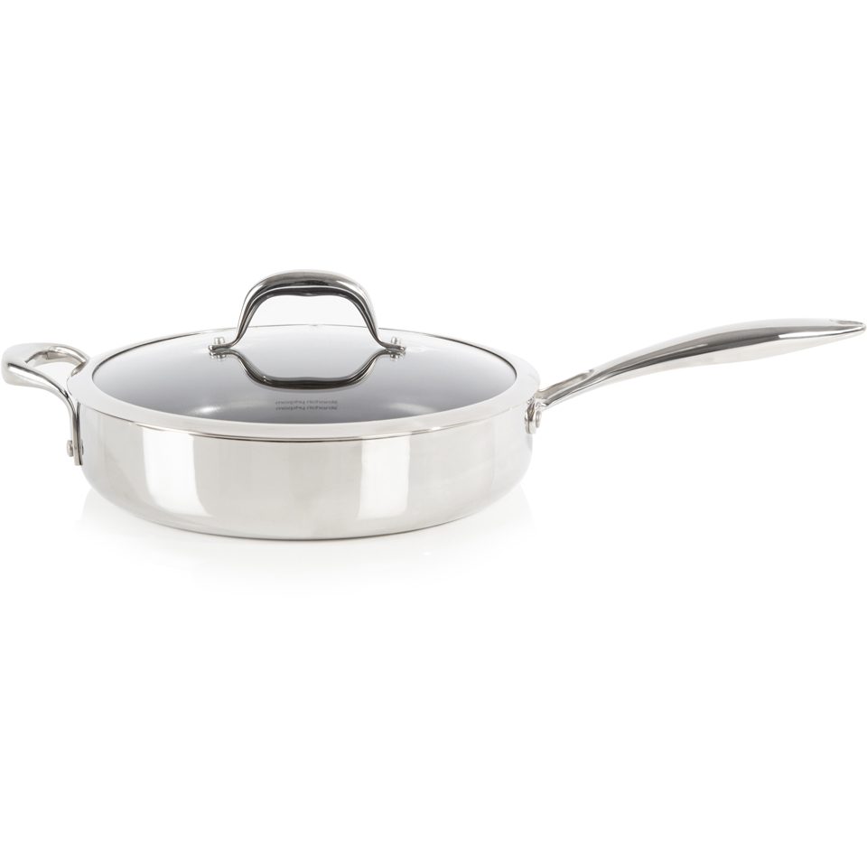 morphy-richards-79807-pro-tri-saute-pan-stainless-steel-28cm
