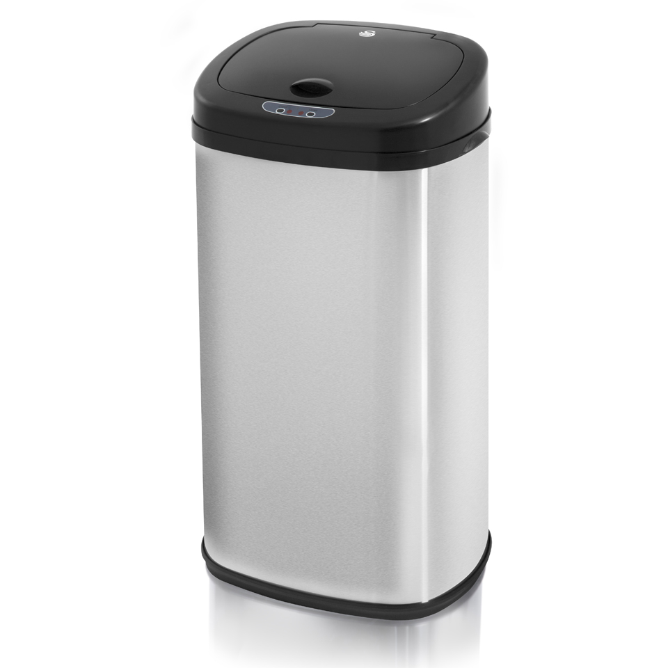 swan-swka4200msn-square-sensor-bin-brushed-stainless-steel-42l