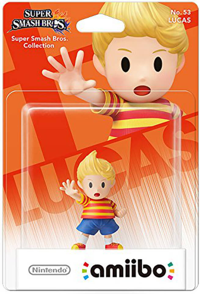 amiibo Super Smash Bros Lucas