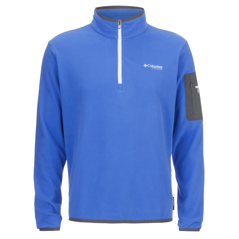 columbia-men-titan-pass-10-half-zip-fleece-hyper-blue-m
