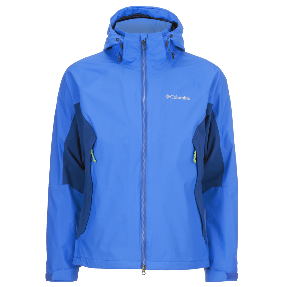 Columbia Mens On The Mount Stretch Jacket Hyper Blue S