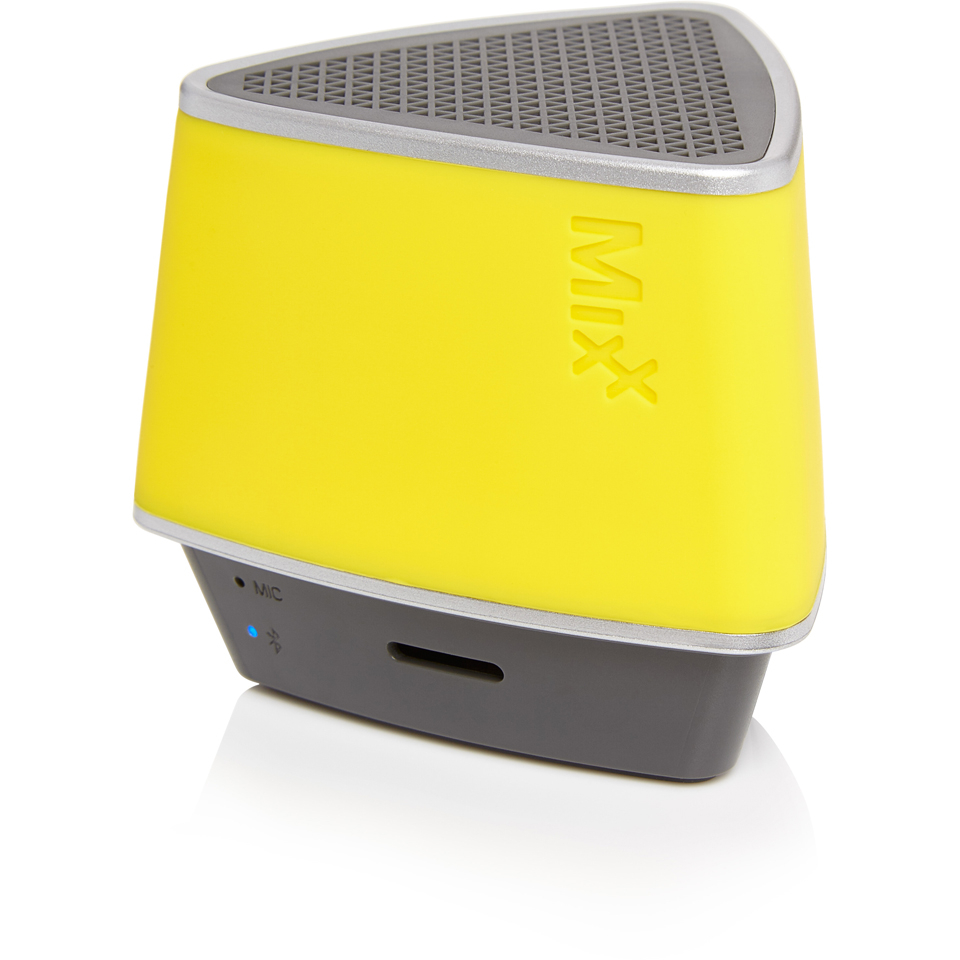 mixx-s1-bluetooth-wireless-portable-speaker-hands-free-conference-calling-neon-yellow
