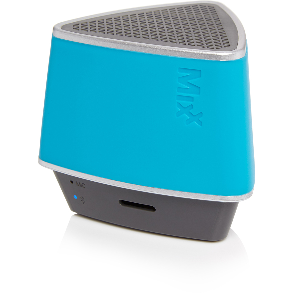 mixx-s1-bluetooth-wireless-portable-speaker-hands-free-conference-calling-neon-blue