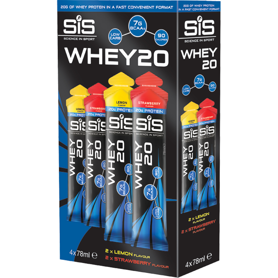 science-in-sport-whey20-4-pack-strawberry-lemon