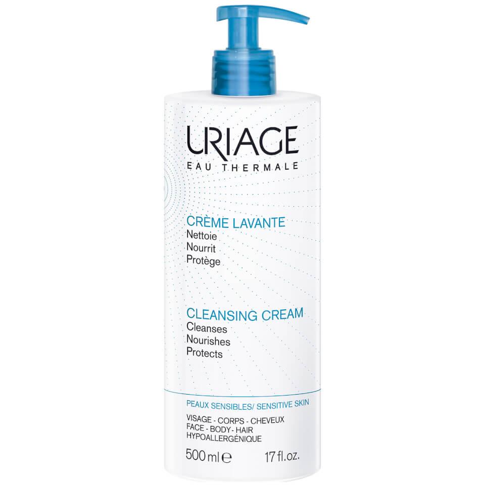 Uriage Creme Lavante Soap Free Cleansing Cream 500ml Free