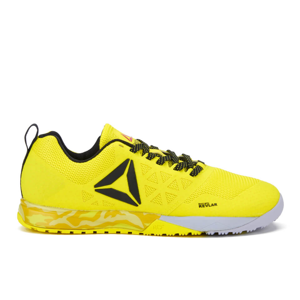 Foto Reebok Men's Crossfit Nano 6.0 Trainers - Hero Yellow - UK 6