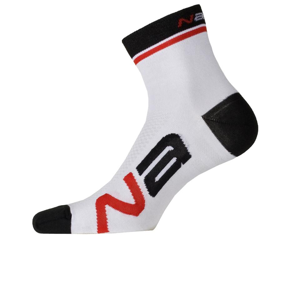 nalini-logo-socks-13cm-white-sm