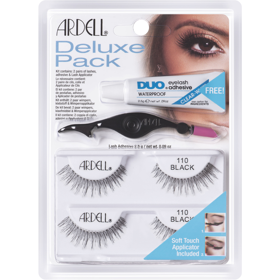 Ardell Deluxe Pack Nr. 110 - Black Wimpern
