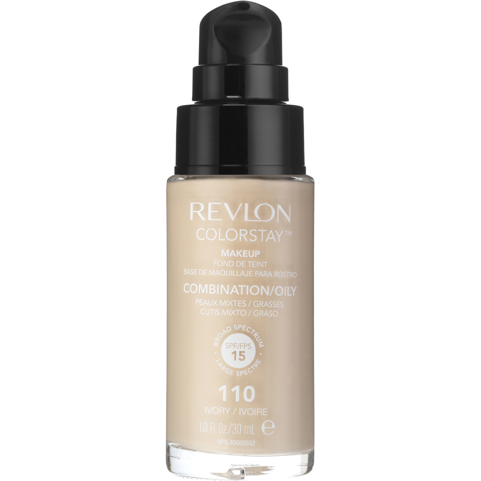 Revlon Colorstay Make-Up SoftFlex Foundation for Oily-Combination Skin Ivory