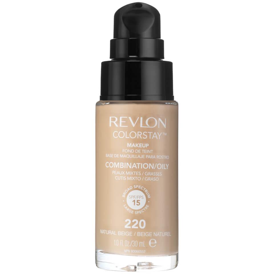 Revlon Colorstay Make-Up SoftFlex Foundation for Oily-Combination Skin Natural Beige