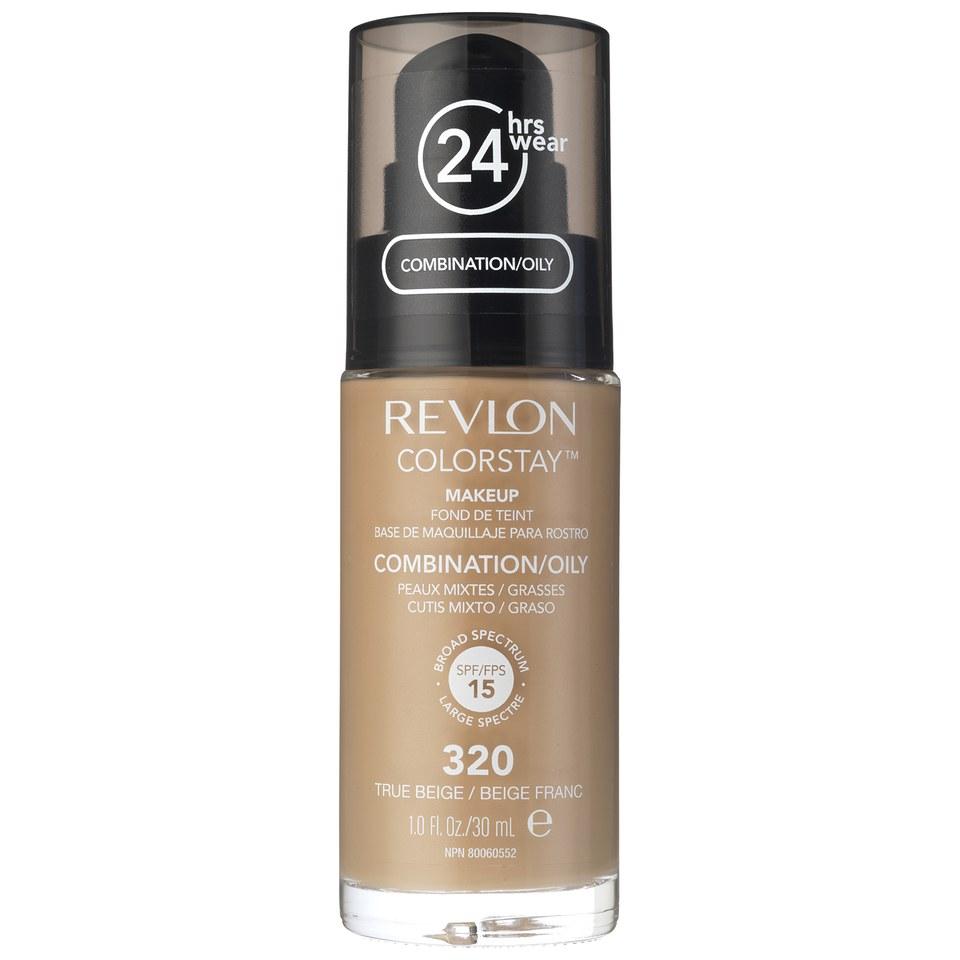 Revlon Colorstay Make-Up SoftFlex Foundation for Oily-Combination Skin True Beige