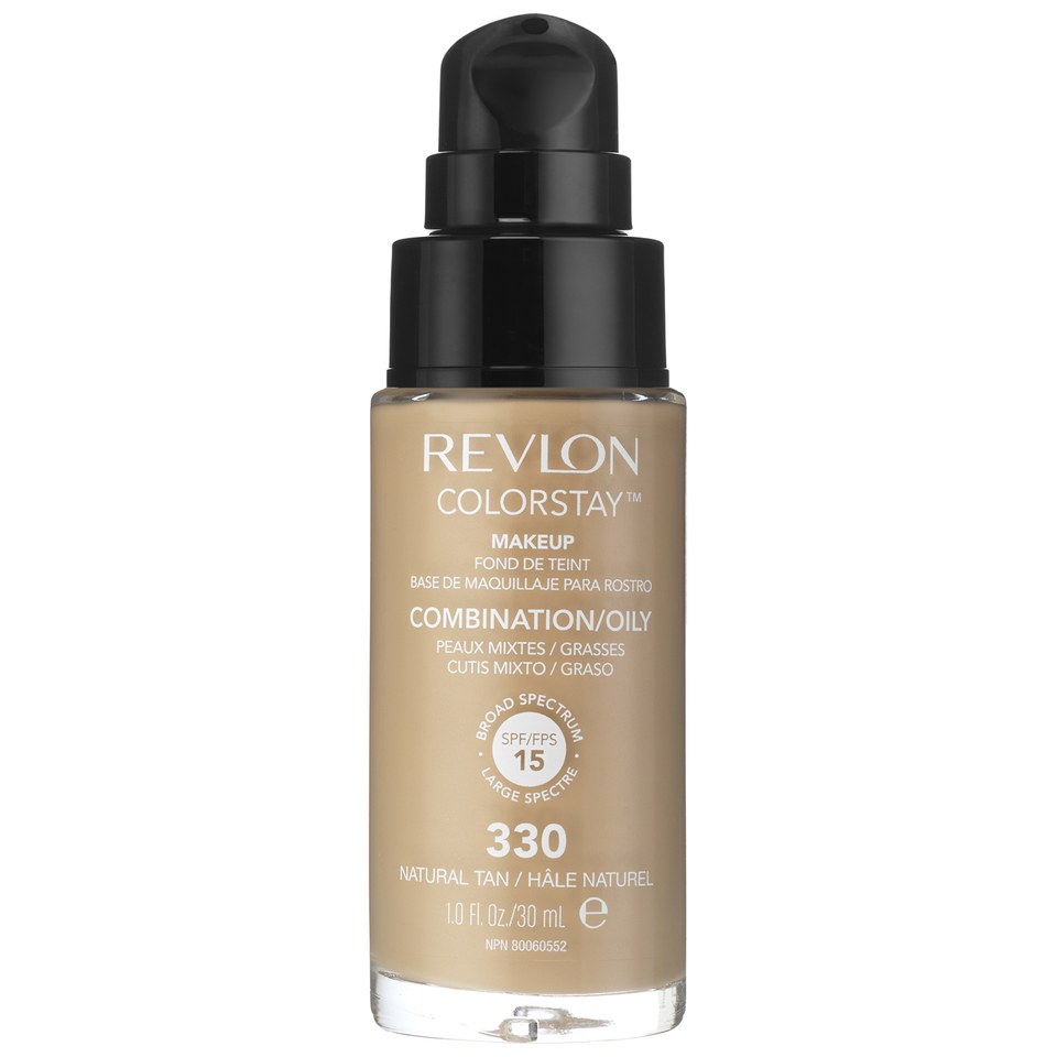 Revlon Colorstay Make-Up SoftFlex Foundation for Oily-Combination Skin Natural Tan