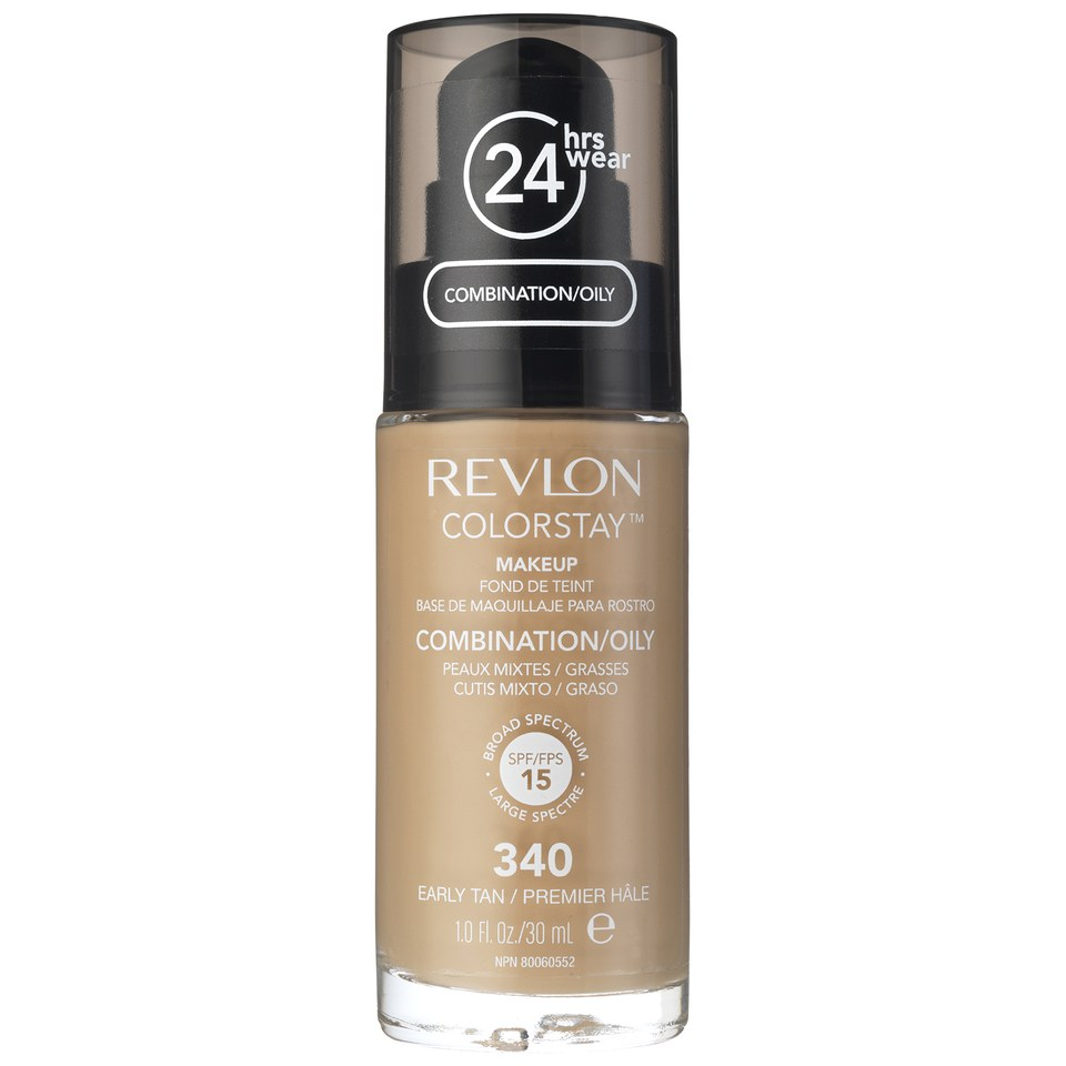 Revlon Colorstay Make-Up SoftFlex Foundation for Oily-Combination Skin Early Tan