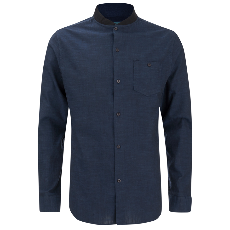 brave-soul-men-oakley-collarless-long-sleeve-shirt-ink-navy-s