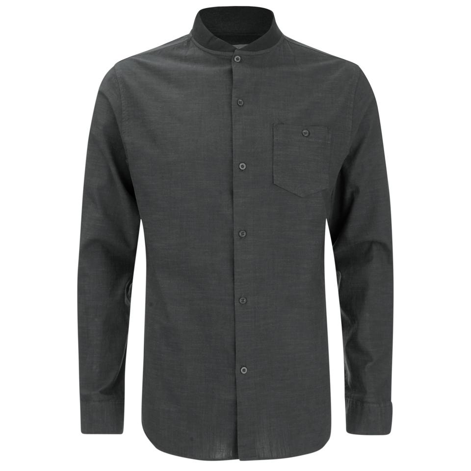 brave-soul-men-oakley-collarless-long-sleeve-shirt-charcoal-black-s