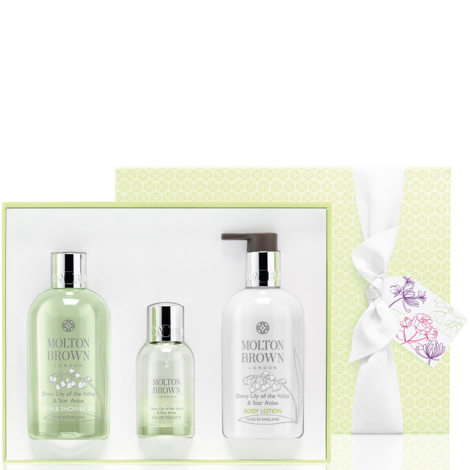 molton brown dewy lily of the valley star anise fragrance gift molton brown dewy lily of the valley star anise fragrance gift set reviews free shipping lookfantastic