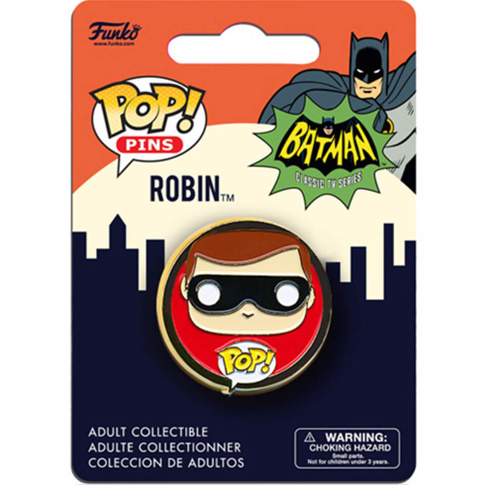 DC Comics Batman Classic 1966 Robin Pop! Pin