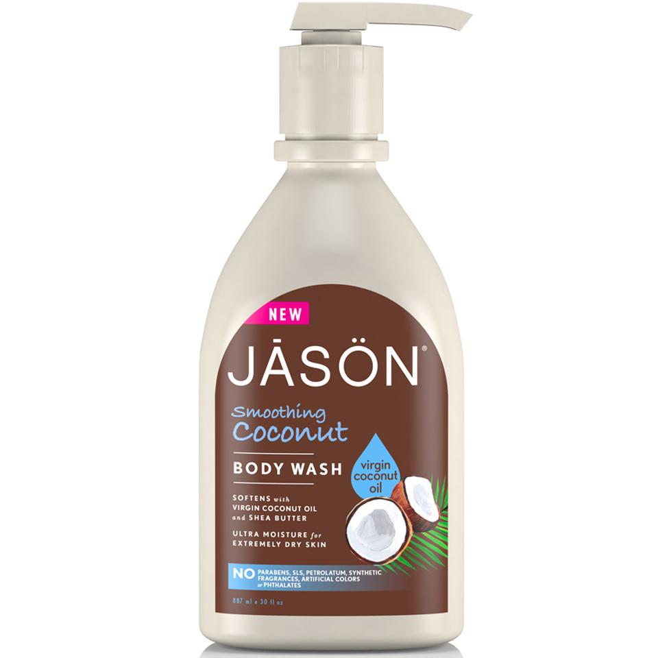 Nettoyant corporel adoucissant à la noix de coco JASON887ml