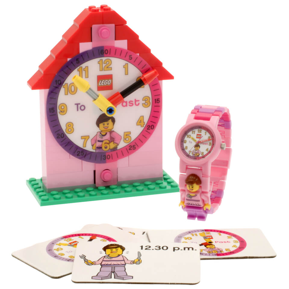 lego-time-teacher-pink-mini-figure-link-watch-buildable-clock