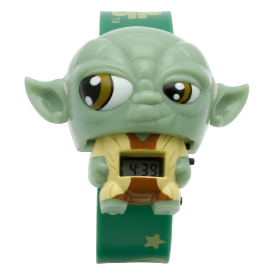 BulbBotz Star Wars Yoda Armbanduhr