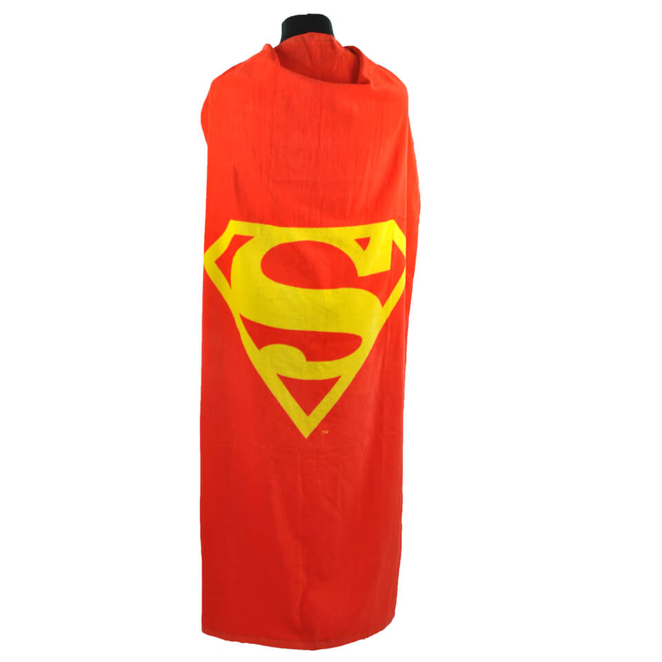 DC Comics Superman Cape Towel (14 x 41 x 31cm)