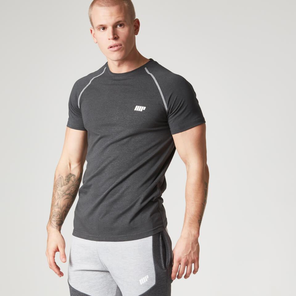 Foto Myprotein Men's Performance Raglan Sleeve T-Shirt - Black - M