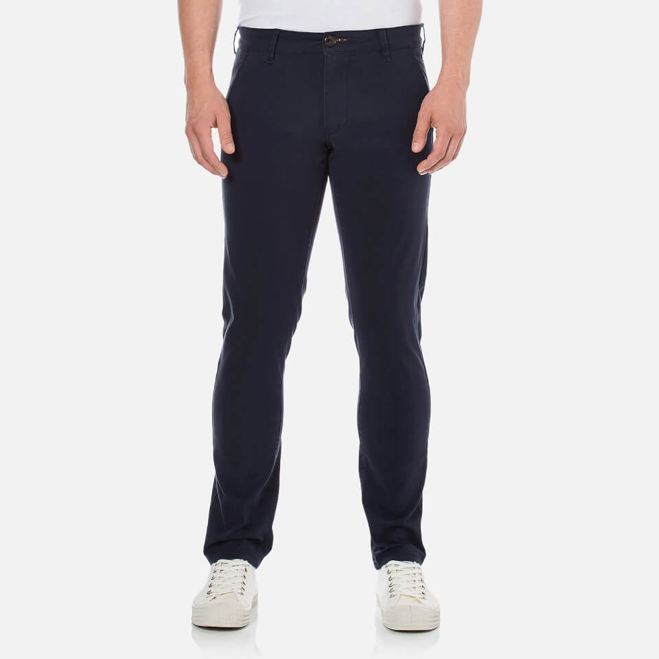 Selected Homme Mens Threeparis Stretch Chino Pants Navy W36/l34
