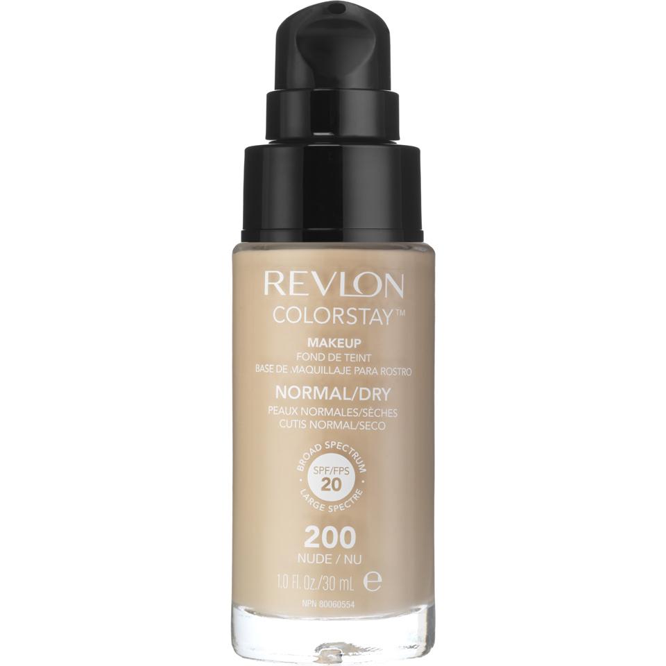 Revlon Colorstay Make-Up SoftFlex Foundation for Normal-Dry Skin Nude