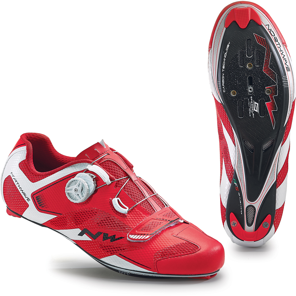 northwave-men-sonic-2-carbon-cycling-shoes-redwhite-48