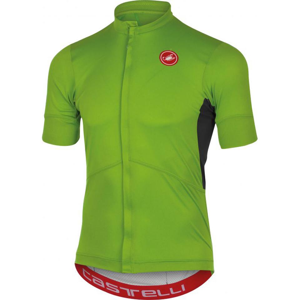 castelli-imprevisto-nano-short-sleeve-jersey-green-l