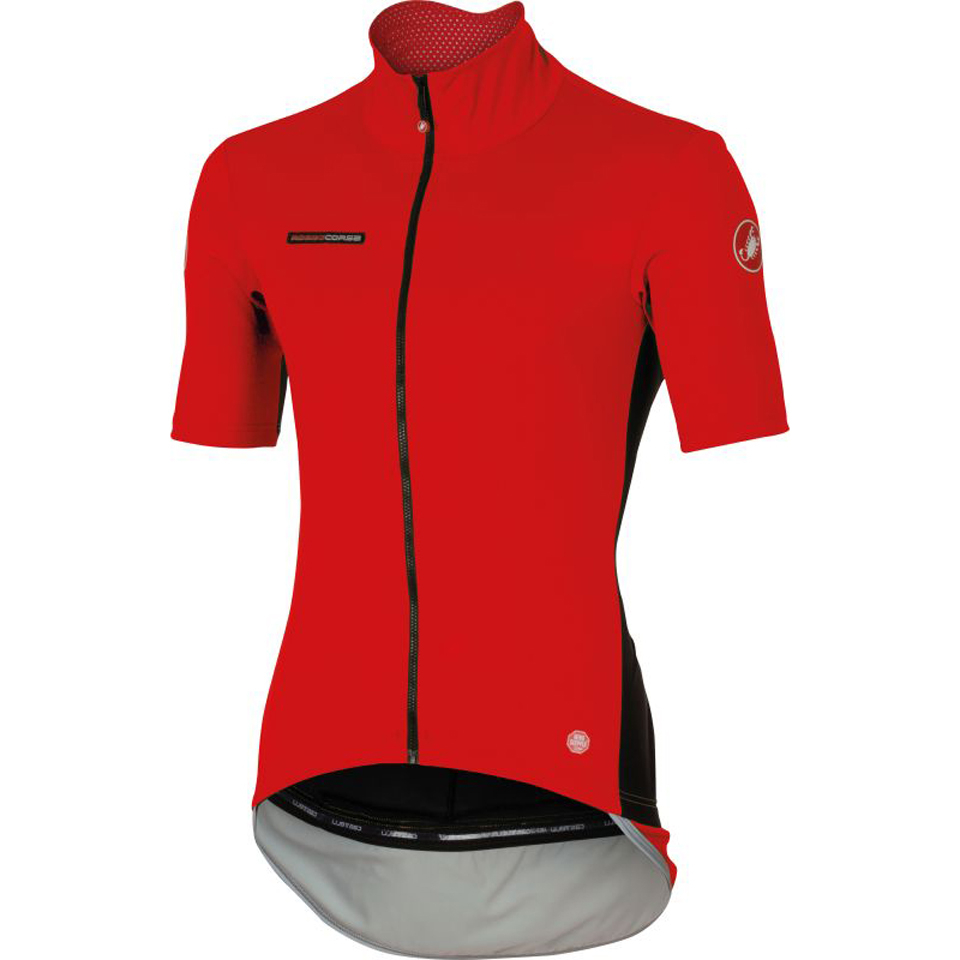 castelli-perfetto-light-short-sleeve-jersey-red-s