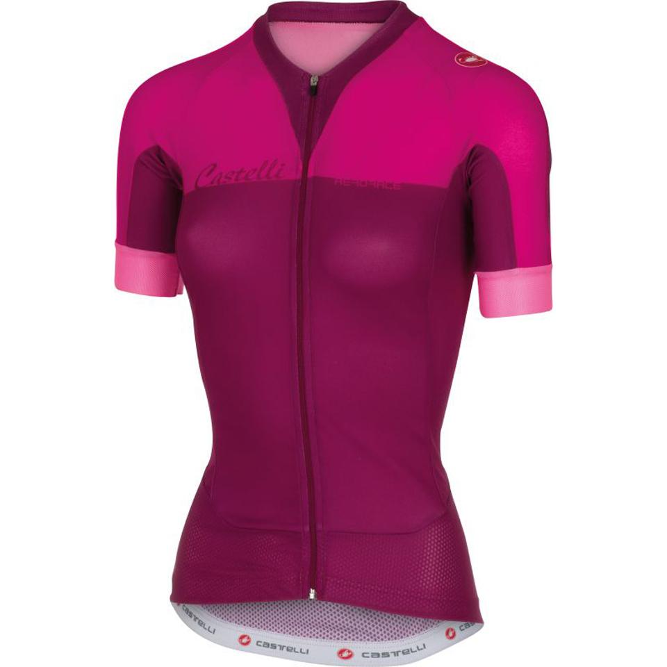 castelli-women-aero-race-short-sleeve-jersey-pink-l