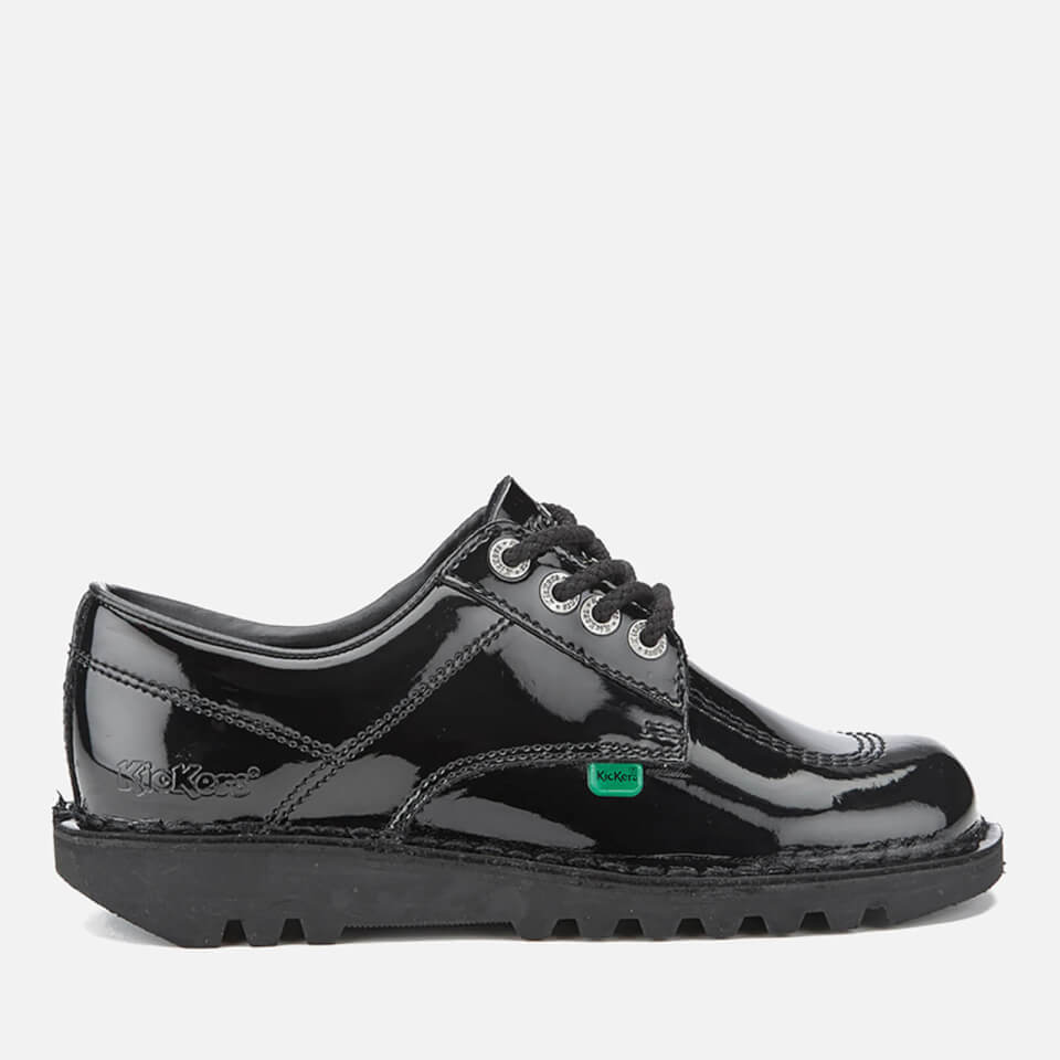 Zapatos de charol Kickers Kick Lo - Mujer - Negro - UK 5/EU 38 - Negro