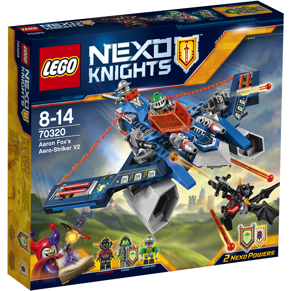 lego-nexo-knights-aaron-fox-aero-striker-v2-70320