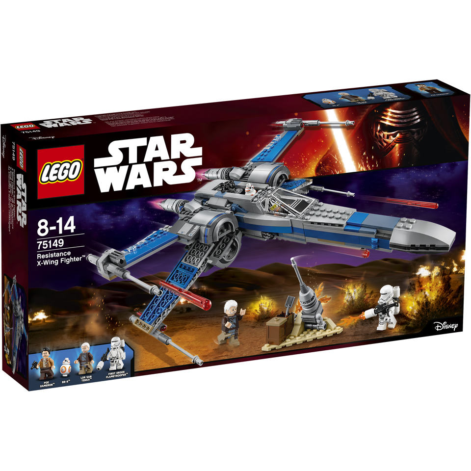 LEGO Star Wars Resistance X Wing Fighter (75149)