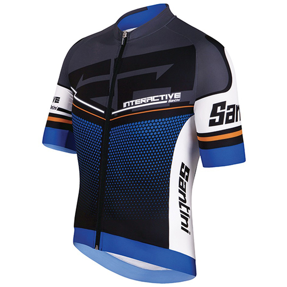 santini-interactive-30-short-sleeve-jersey-blue-xl