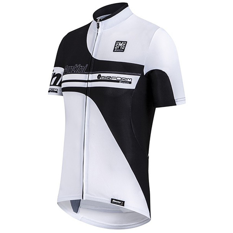 santini-air-form-short-sleeve-jersey-white-m