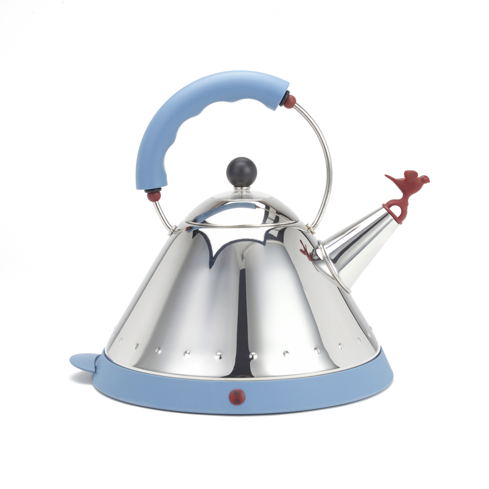 Alessi michael graves cordless kettle homeware for Alessi outlet