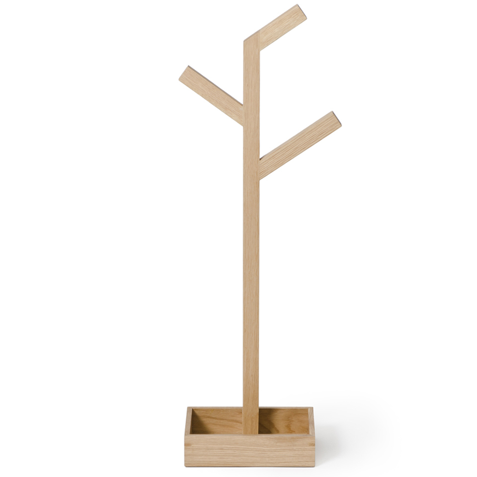 wireworks-natural-oak-towel-rail-branch