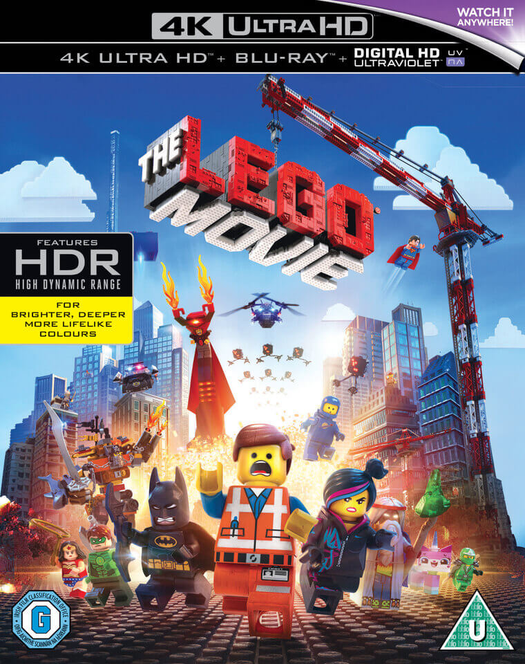 the lego movie 4k ultra hd blu ray zavvi. Black Bedroom Furniture Sets. Home Design Ideas