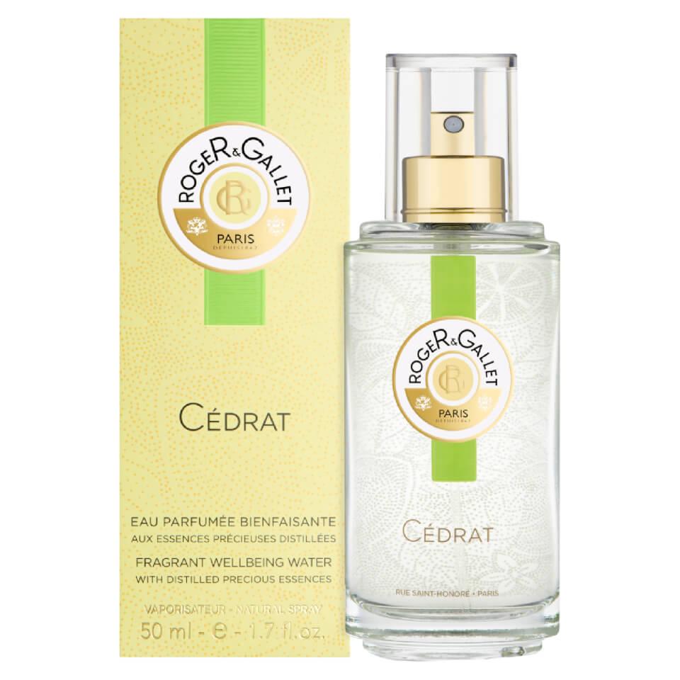 Pulvérisateur d'eau Parfum Frâicheur Citron Roger&Gallet 50 ml
