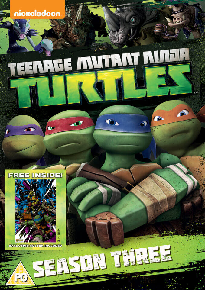 Teenage Mutant Ninja Turtles Season 3 Complete Collection