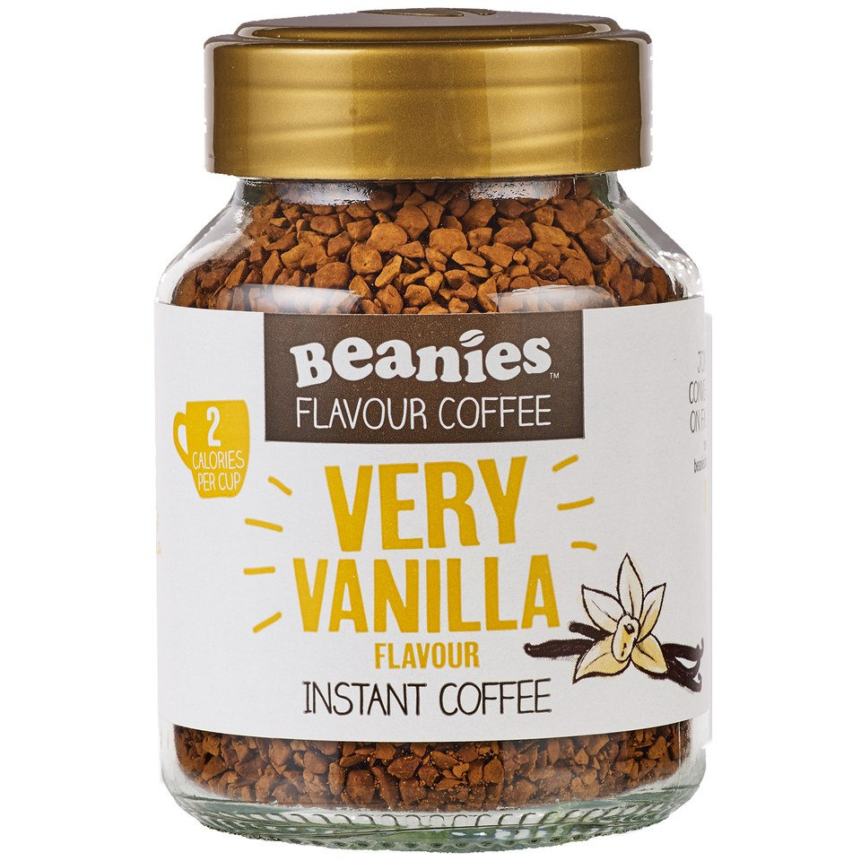 Buy Beanies Very Vanilla Flavour Instant Coffee Myvitamins