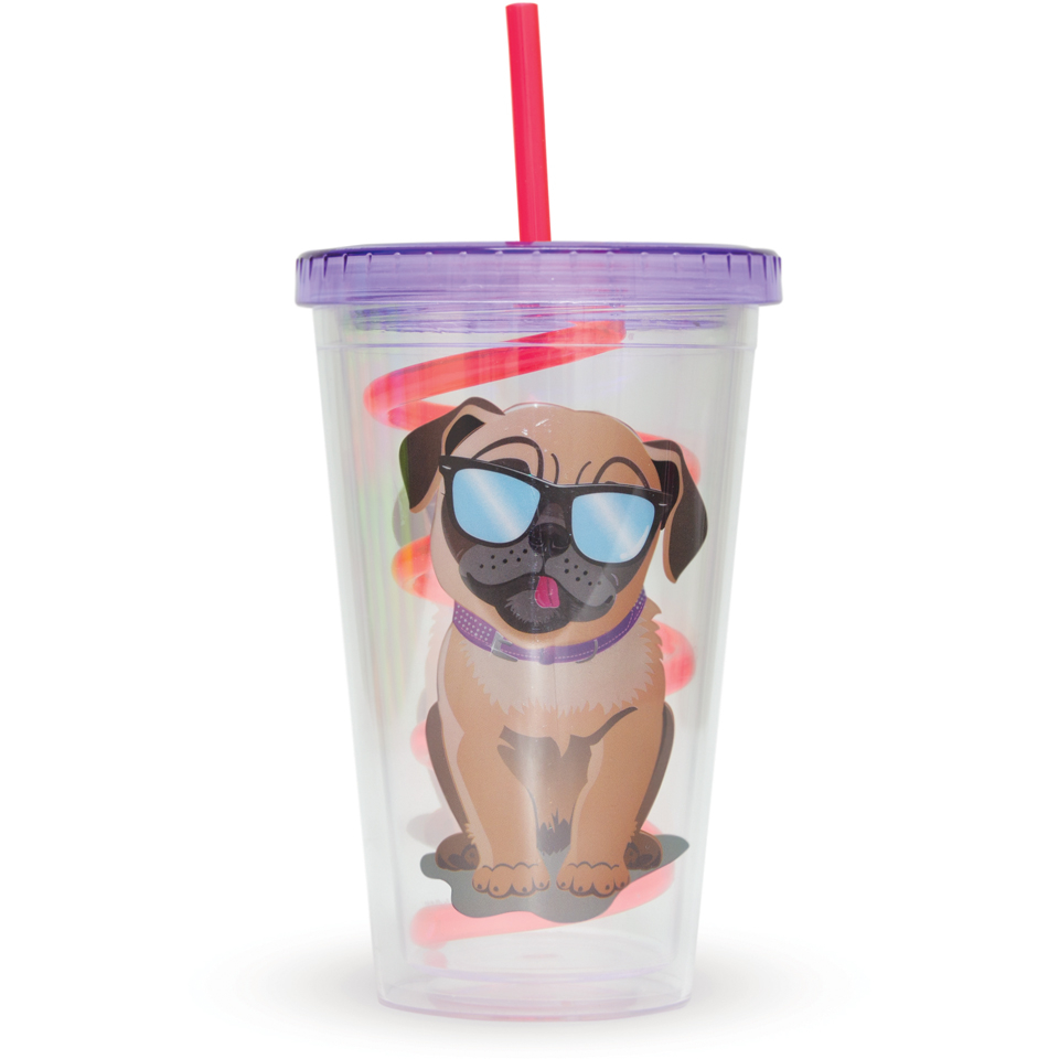pug-straw-cup-multi-16oz