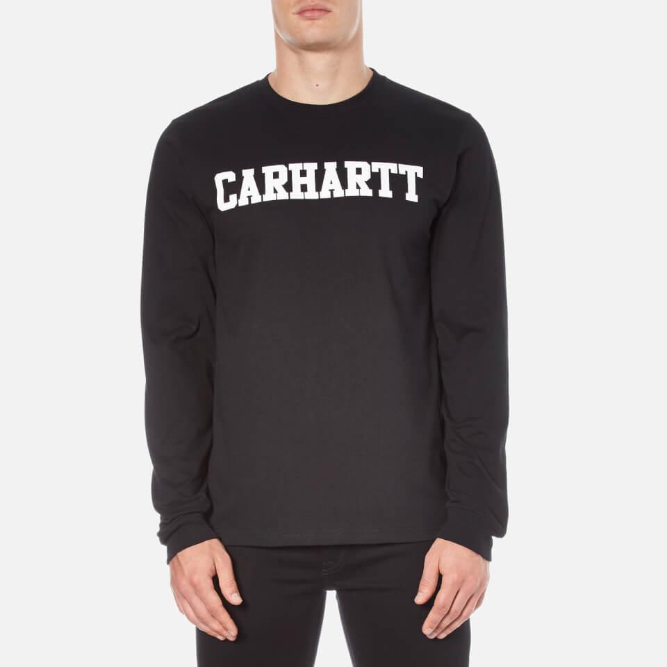 carhartt-men-long-sleeve-college-t-shirt-black-white-s