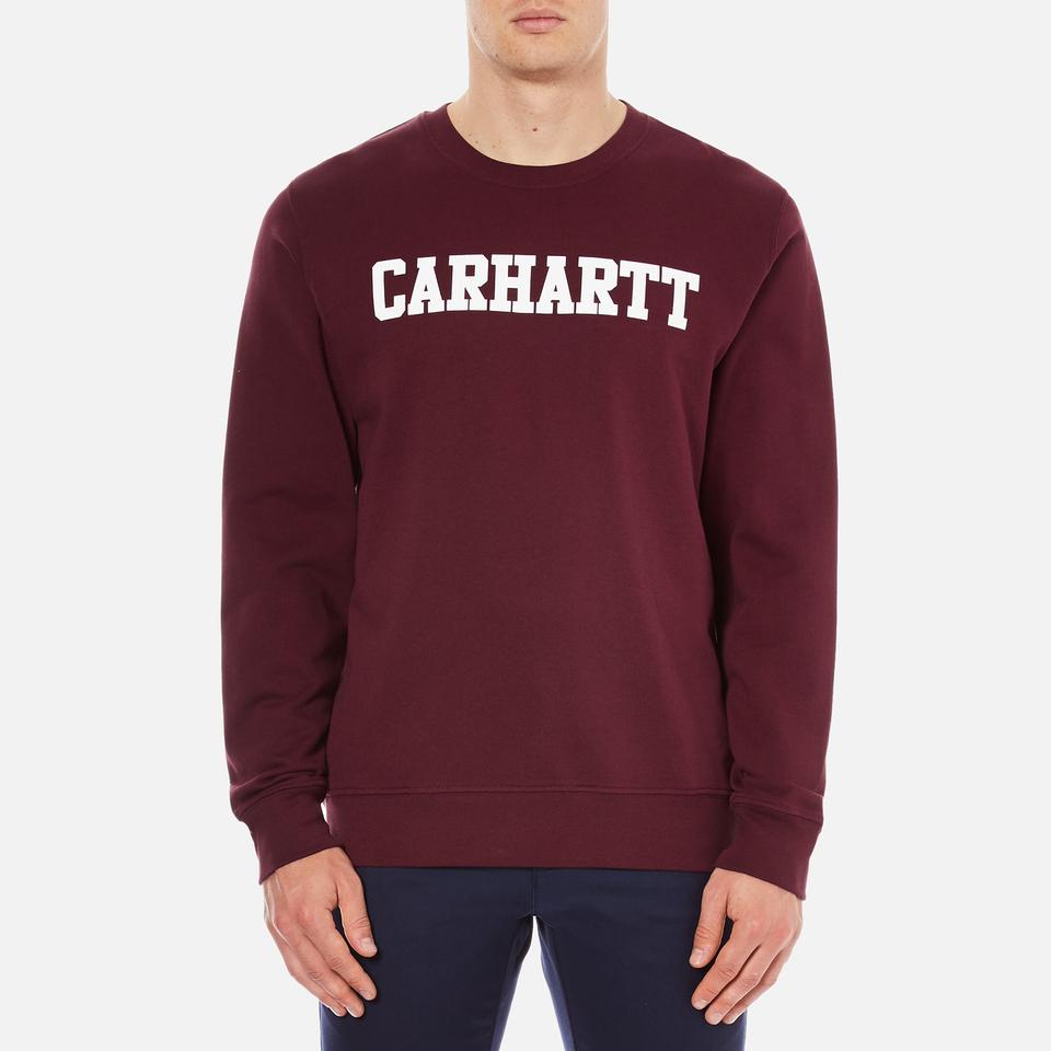 carhartt-men-college-sweatshirt-chianti-white-l