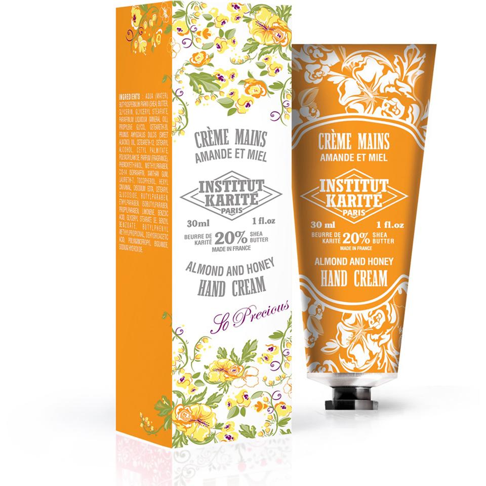 Institut Karité Paris Shea Hand Cream So Precious - Almond and Honey 30ml