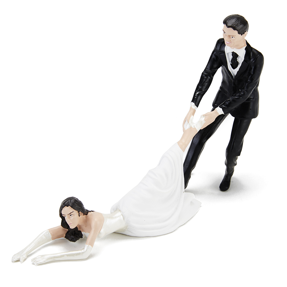 reluctant-bride-cake-topper