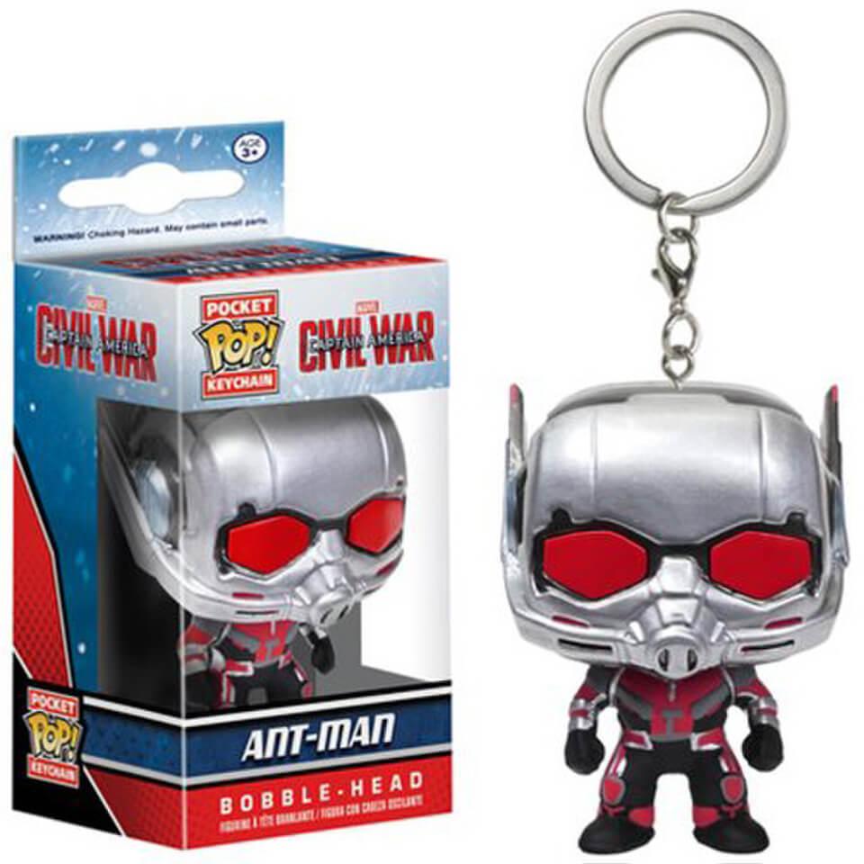 Captain America Civil War Ant Man Pocket Pop! Schlüsselanhänger