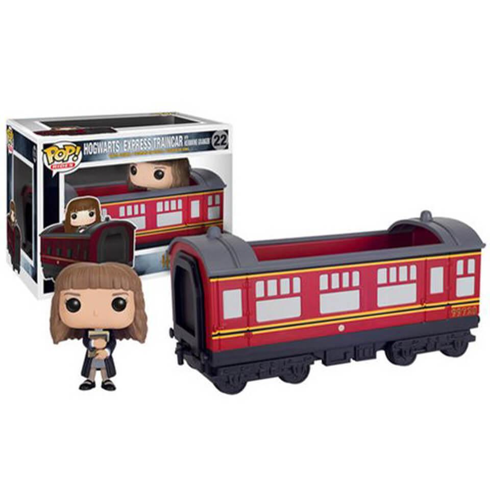 Harry Potter Hogwarts Express Vehicle mit Hermine Granger Funko Pop! Figur